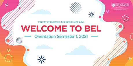 Bachelor of Economics Orientation Session | Sem 1, 2021 tickets