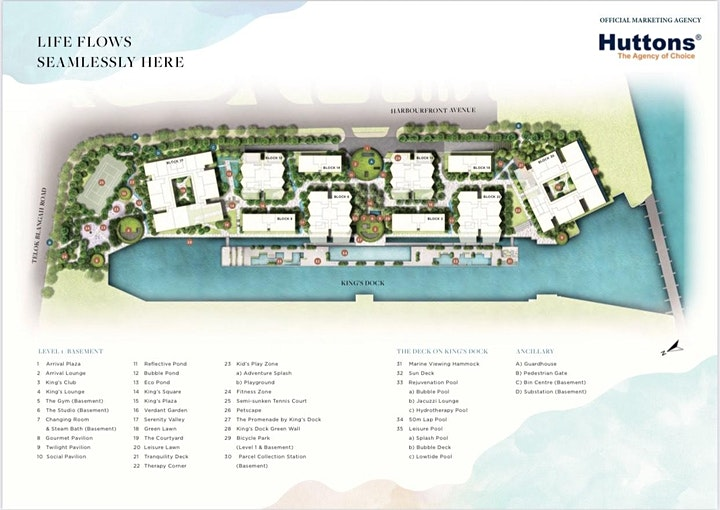 The Reef at King's Dock - Luxury Waterfront Residences image
