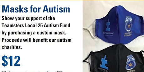 Teamsters Local 25 Masks for Autism tickets