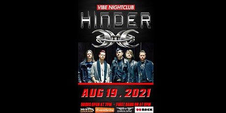 HINDER Live at Vibe Nightclub tickets