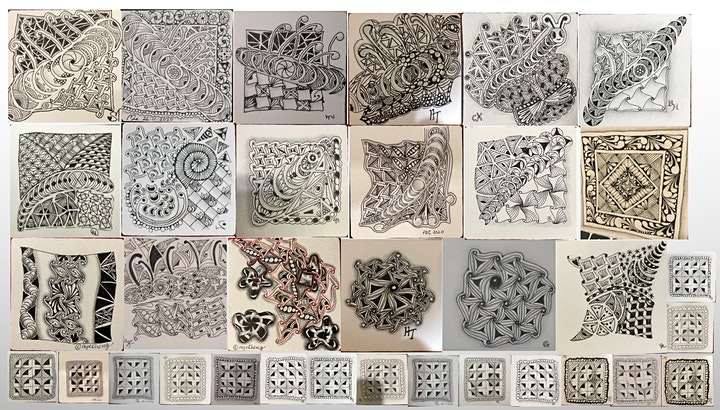 Zentangle Art Course starts  Oct 16  (8 sessions) image