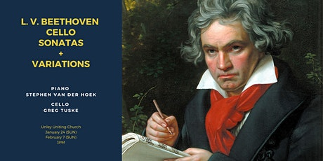 Beethoven Cello Sonatas + Variations Concert Series tickets
