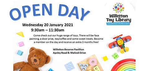 Willetton Toy Library Open Day tickets