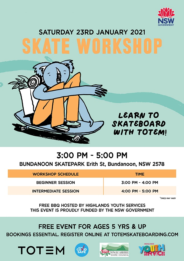 Bundanoon Skatepark - Skate Workshop image