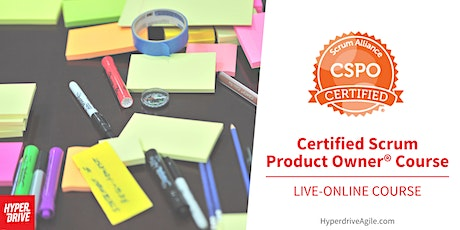 Certified Scrum Product Owner® (CSPO) Live-Online Course (Eastern Time) tickets