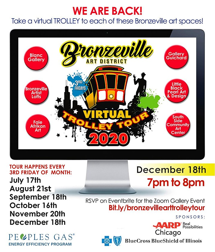 Bronzeville Art District Virtual Trolley Tour 2020 ! image