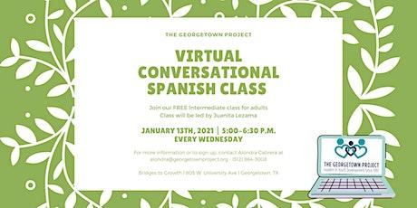 Virtual Conversational/Intermediate Spanish  Spring 2021 tickets