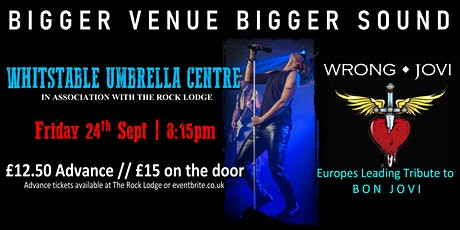 Wrong Jovi (Bon Jovi Tribute) Live in Whitstable tickets