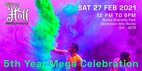 Brisbane Holi - Festival of Colours tickets