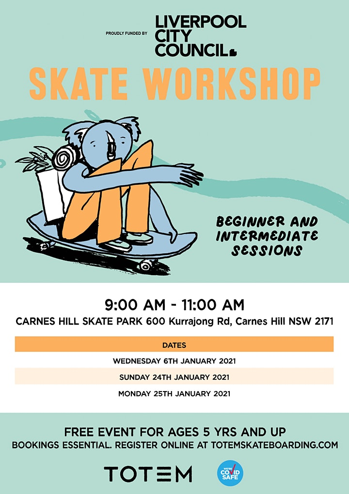 Carnes Hill Skatepark - Skate Workshop image