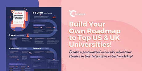 WORKSHOP: Build Your Own Roadmap to a Top US or UK University! (SG) tickets