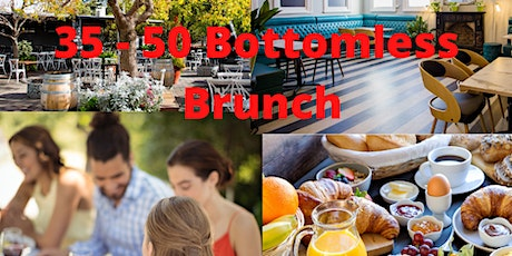 35-50  Bottomless Singles Brunch tickets