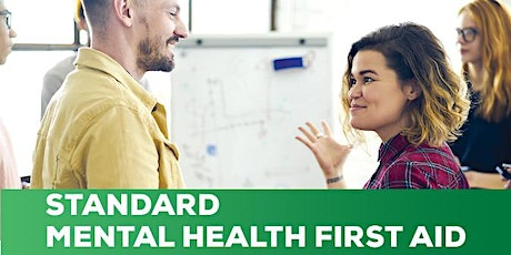 Mental Health First Aid - 2 day workshop - Wed 3 & tickets