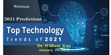 2021 Technology Trends and Predictions tickets