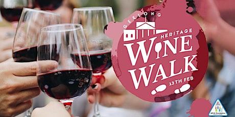 APCO Foundation Geelong Wine Walk 2021 tickets