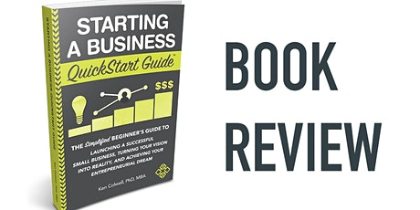 Book Review & Discussion : Starting a Business QuickStart Guide tickets