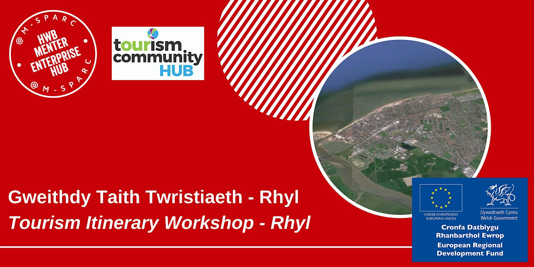 Gweithdy Taith Twristiaeth - Rhyl / Tourism Itinerary Workshop - Rhyl