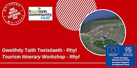 Gweithdy Taith Twristiaeth - Rhyl / Tourism Itinerary Workshop - Rhyl tickets