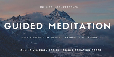 Guided Meditation with Julia (during the lockdown online) tickets
