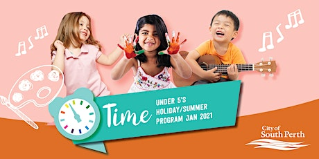 Time for ... Big Summer Rhymes @ South Perth Library tickets
