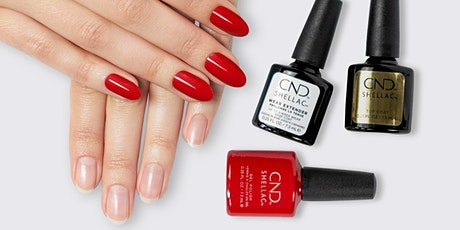 CND™ SHELLAC™ Trouble Shooting Online Tickets
