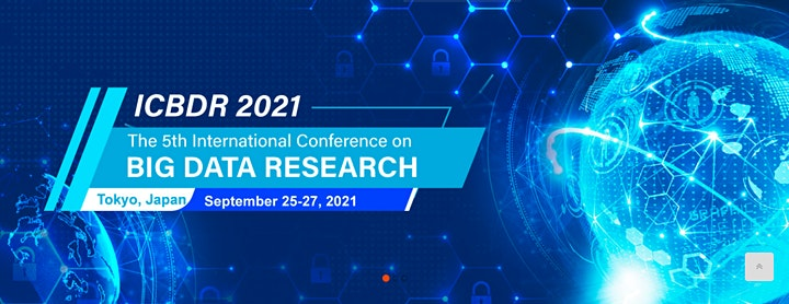 The 5th International Conference on Big Data Research (ICBDR 2021) image