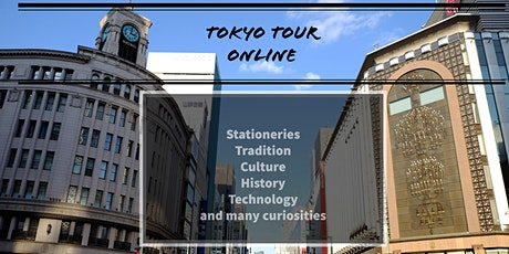 Tokyo Live Virtual tour -  Stationaries in Ginza tickets