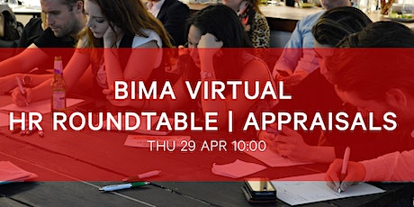 BIMA HR Roundtable | Appraisals tickets