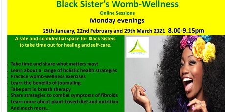 Black Sister's Womb-Wellness Online Circle tickets
