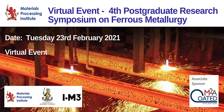 Virtual - 4th Postgraduate Research Symposium on Ferrous Metallurgy - 2021 image