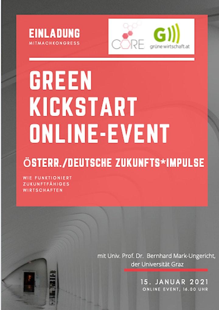 Green Kickstart Online Event -wie funktioniert zukunftsfähiges Wirtschaften: Bild