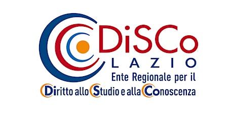 Prenotazione aula studio mensa DiSCo Lazio -  via del Castro Laurenziano biglietti