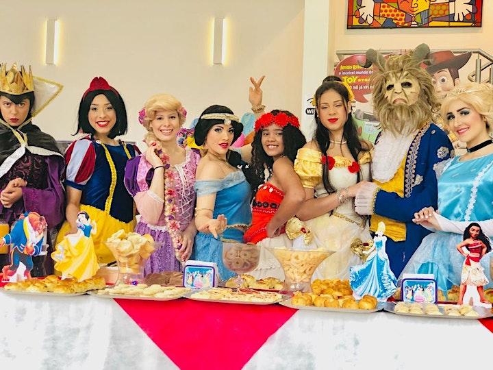 Imagem do evento Desconto! Café da Manhã + Teatro: Princesas e Contos, no Teatro BTC