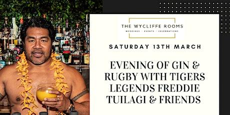 Rugby & Gin Night with Freddie Tuilagi & Friends tickets