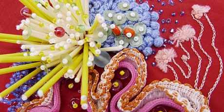 Auckland Couture Beading & Embellishment Beginners Course June 26-27th 2021 tickets