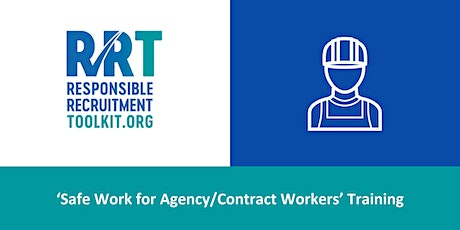 Safe Work for Agency/Contract Workers | 08/06/2021 tickets