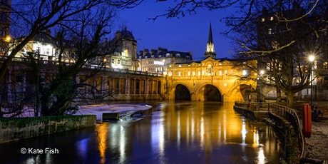 Photo WALKshop: blue hour light for atmospheric cityscapes in Bath tickets