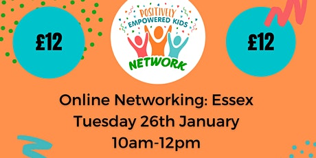 ONLINE ESSEX Positively Empowered Kids Network  January 2021 tickets