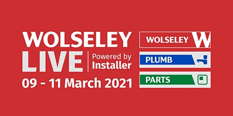 Wolseley LIVE powered by Installer tickets