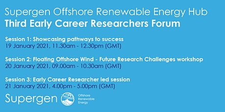 Third Supergen ORE Hub Early Career Researcher Forum tickets