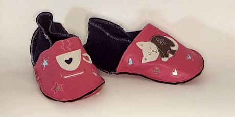 Make Your Own Cozy Indoor Shoes tickets