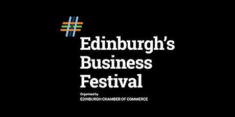 Edinburgh's Business Festival tickets