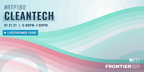 RTP180: Cleantech tickets