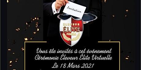 Cérémonie d'Honneur Éleveur Élite Purina 2020 billets