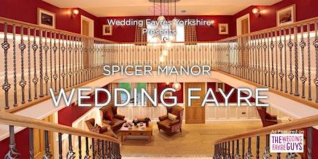 Spicer Manor Wedding Fayre tickets