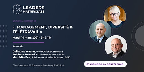"""Leaders Master Class - """"Management, Diversité et télétravail """" billets"""