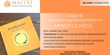 Aprofundamento em Mindfulness - Tema: Livro Respirando bilhetes