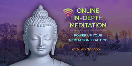 Power up your meditation  - booking for individual sessions tickets