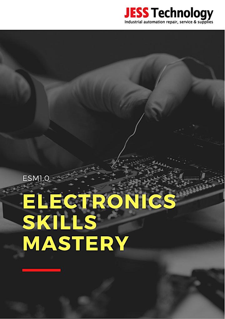 Online ESM 1.0 Electronics Skills Mastery  [22 - 27 November] image