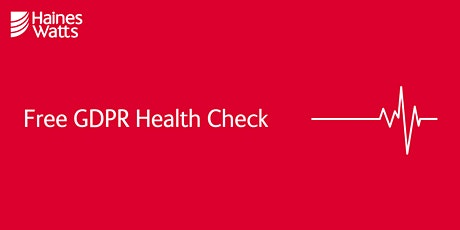 Free GDPR Health Check tickets